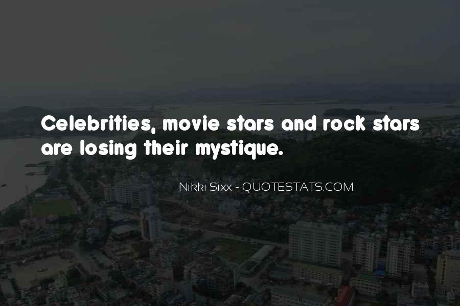 Quotes About Mystique #87657