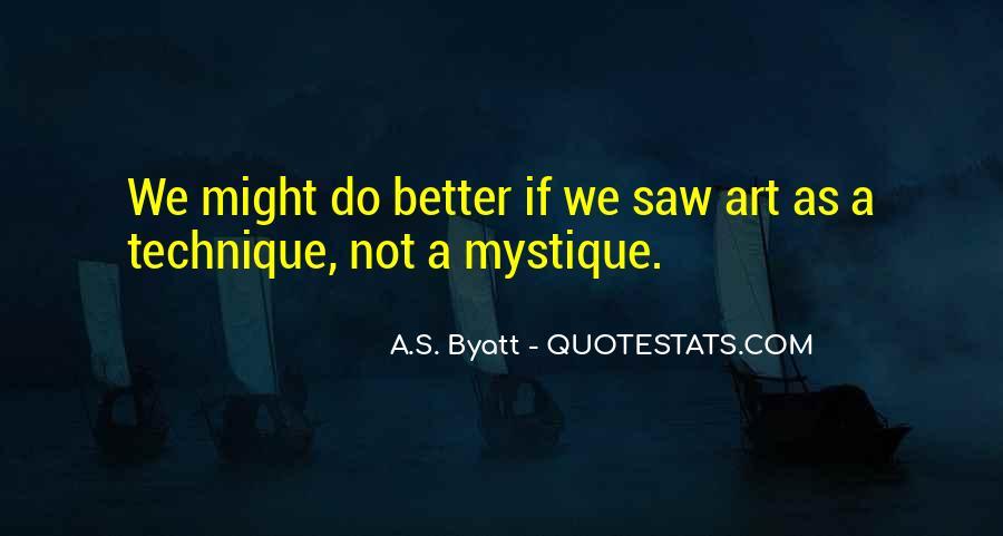 Quotes About Mystique #962204