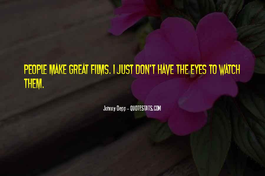 Quotes About Eyes Johnny Depp #1595299