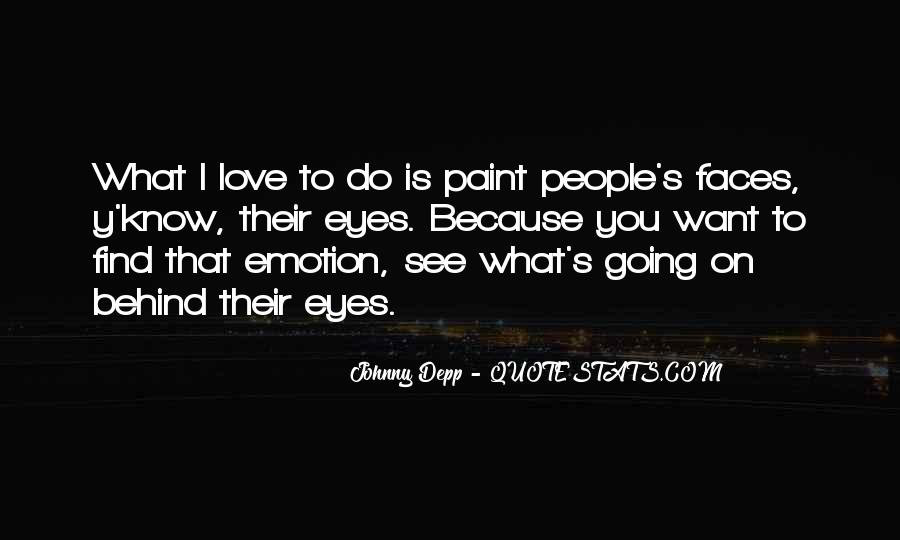 Quotes About Eyes Johnny Depp #1660802