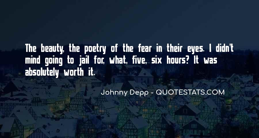 Quotes About Eyes Johnny Depp #874264