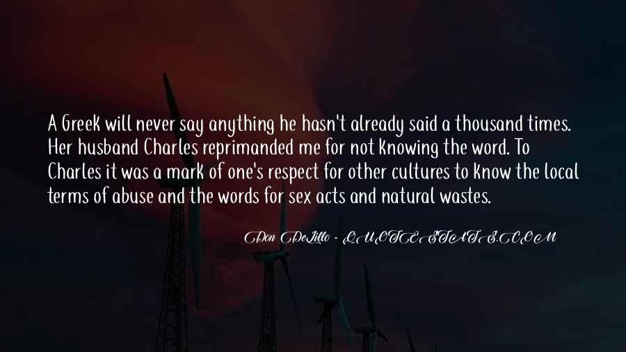 Quotes About Other Cultures #117261