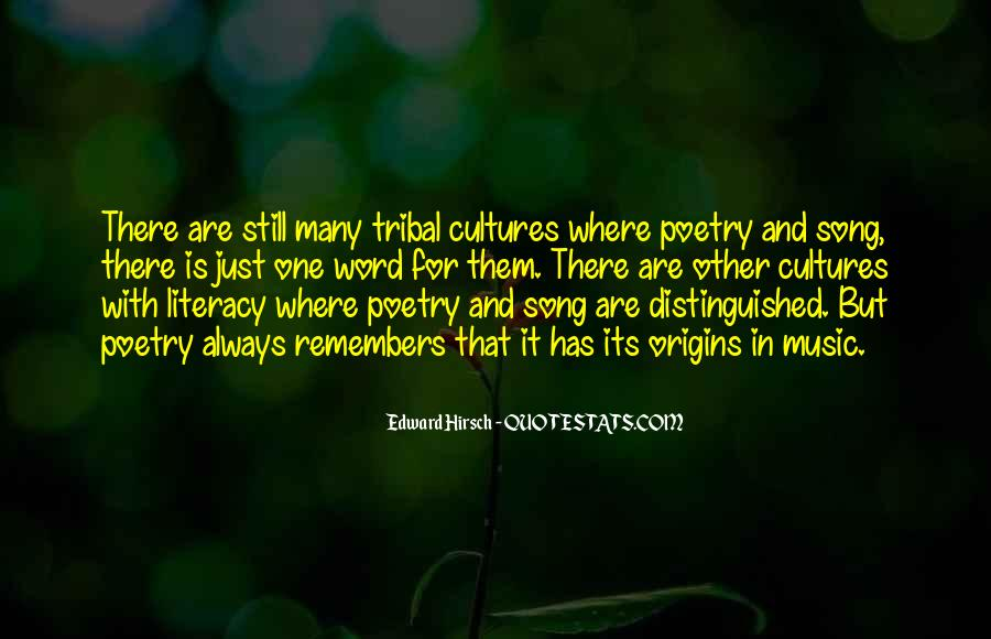 Quotes About Other Cultures #128830