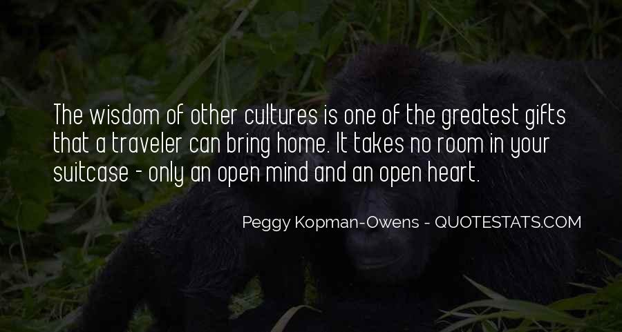 Quotes About Other Cultures #216259