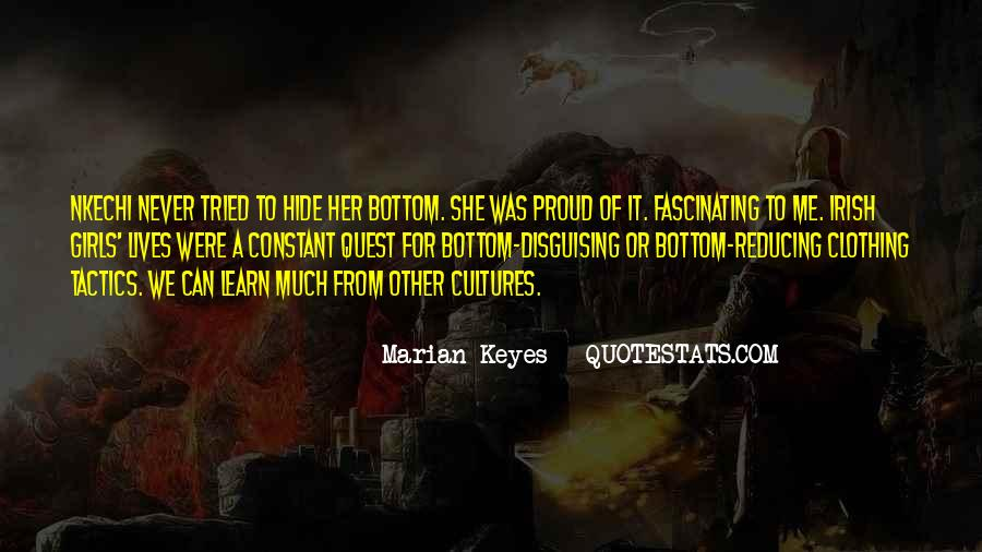 Quotes About Other Cultures #350872