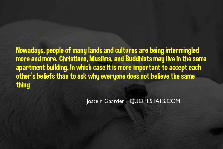 Quotes About Other Cultures #565300