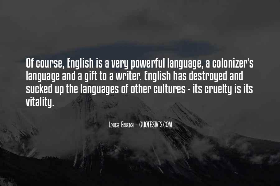 Quotes About Other Cultures #710907