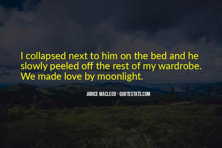 Quotes About Bed Love #44313