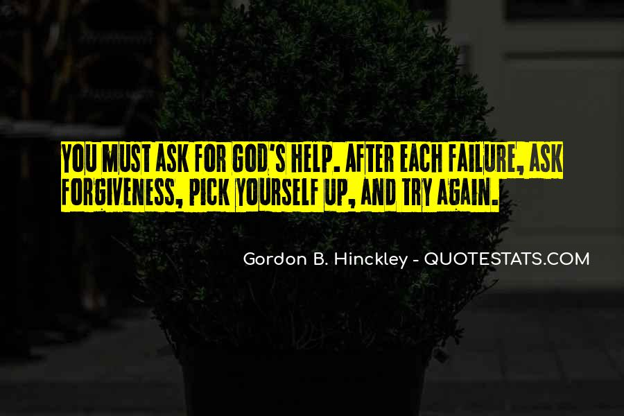 Quotes About Asking For Help To God #158227