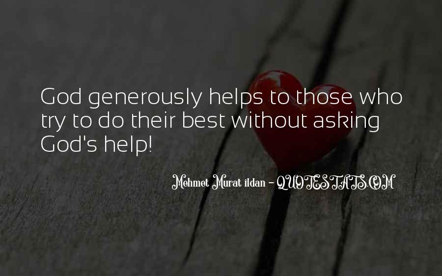 Quotes About Asking For Help To God #1594248