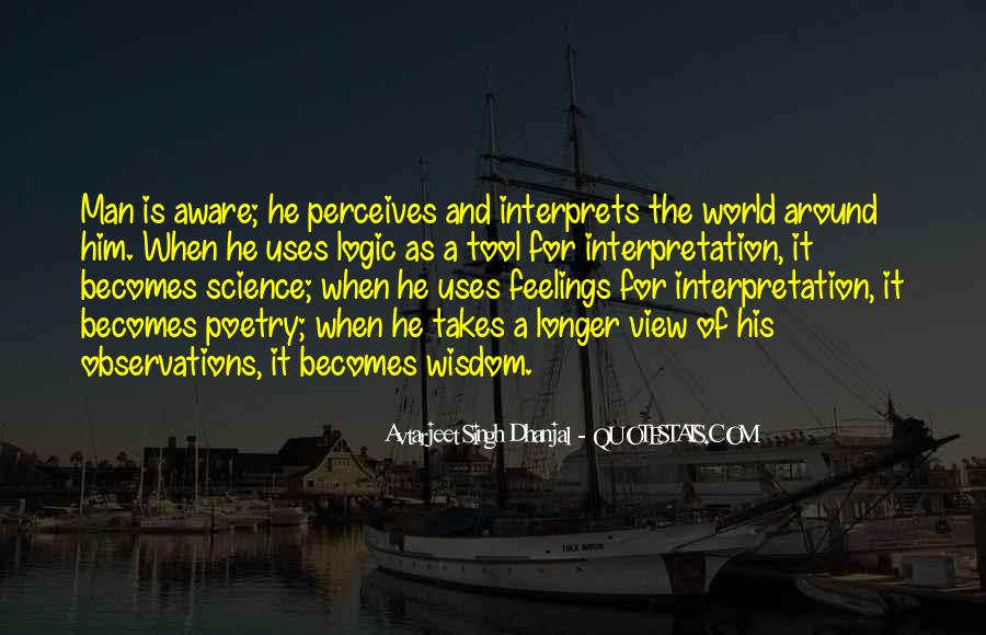 Quotes About Logic And Wisdom #1383227