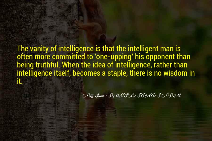 Quotes About Logic And Wisdom #1845297