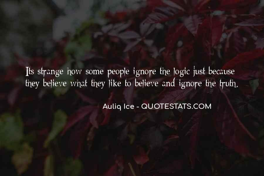 Quotes About Logic And Wisdom #209868