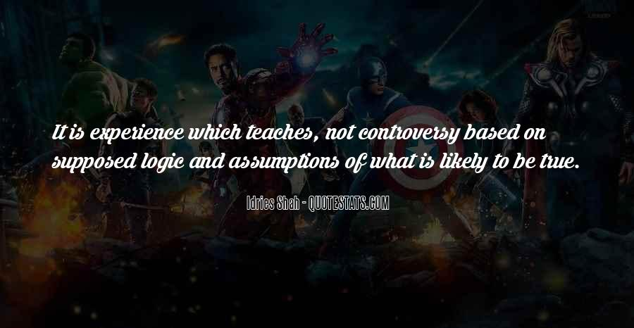 Quotes About Logic And Wisdom #847494