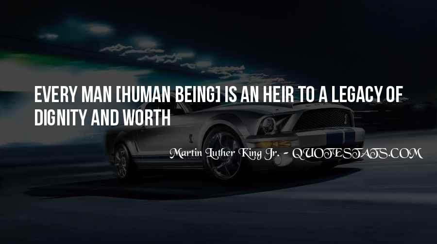 Quotes About Self Worth And Dignity #1085141