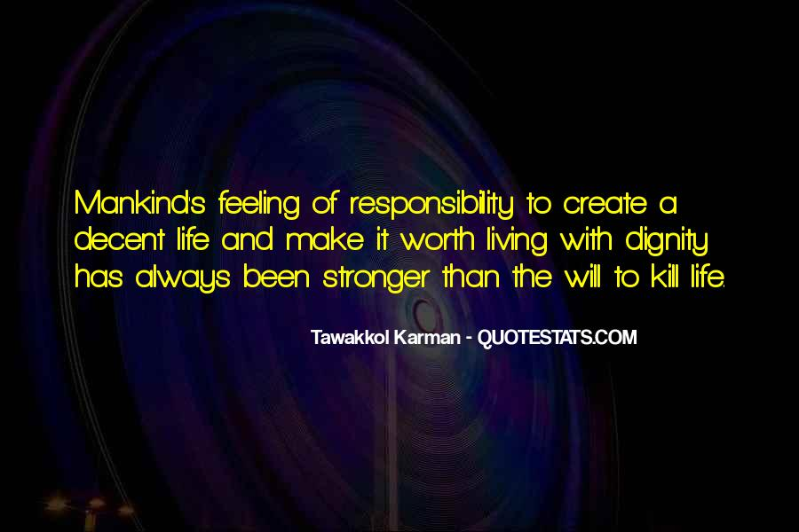 Quotes About Self Worth And Dignity #1453012