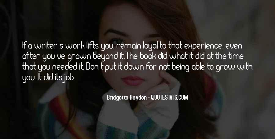 Quotes About Being Put Down #1149890