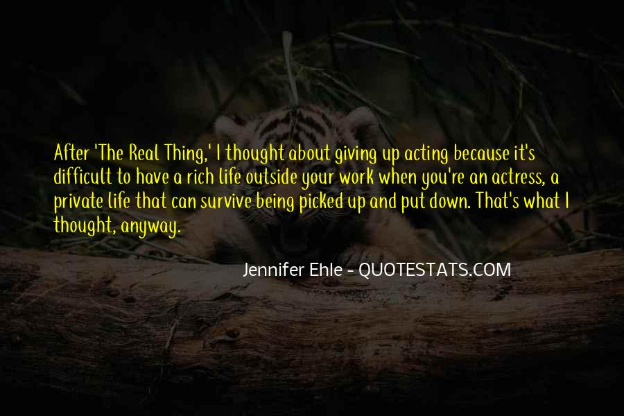 Quotes About Being Put Down #1651635