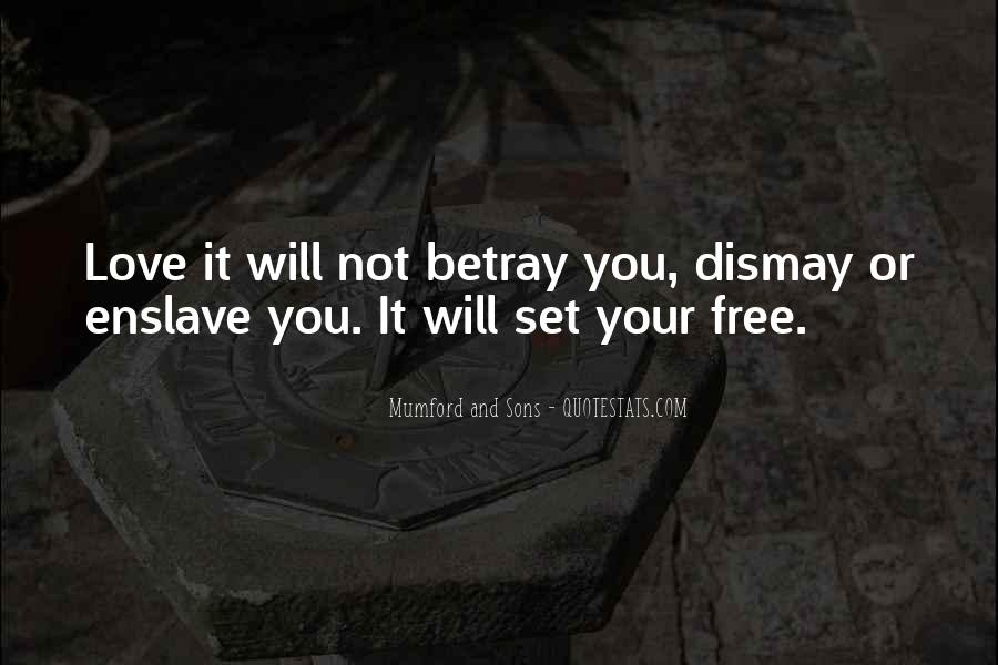 Quotes About Dismay #1304321