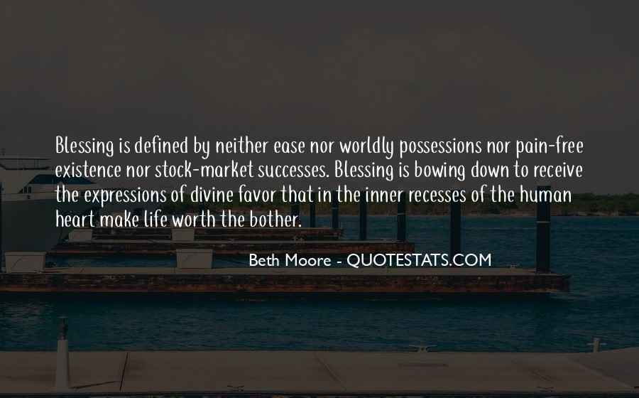 Quotes About Worldly Possessions #1855895