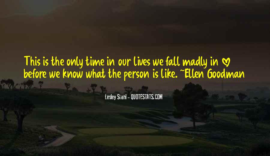 Quotes About Madly In Love #531115