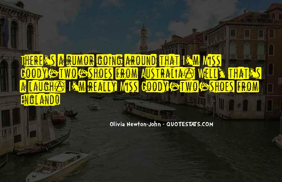 Quotes About Goody Two Shoes #1380687