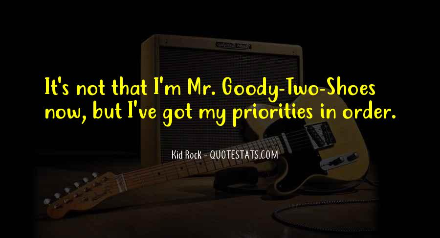 Quotes About Goody Two Shoes #513647
