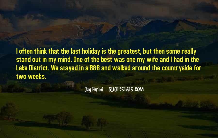 Quotes About Lake District #59378