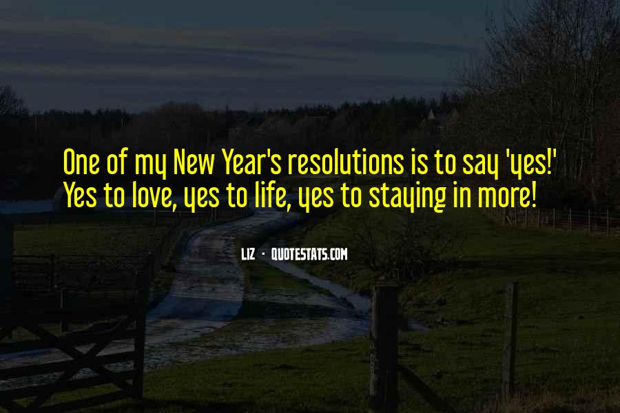 Quotes About New Years Love #1749493