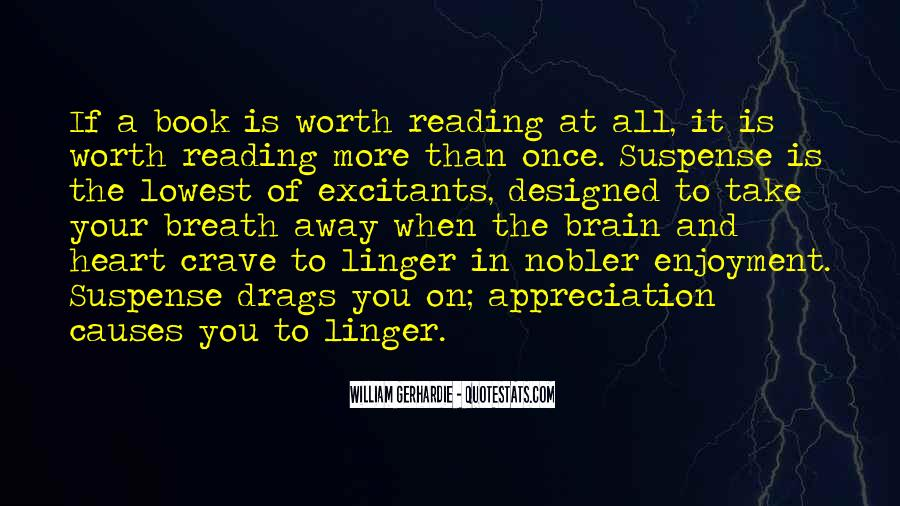 Quotes About Enjoyment Of Reading #502800