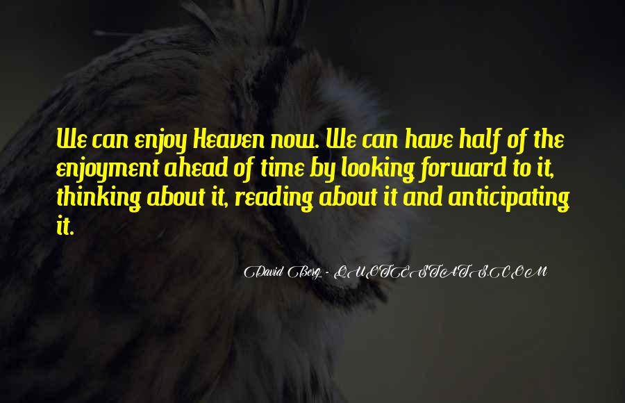 Quotes About Enjoyment Of Reading #648434