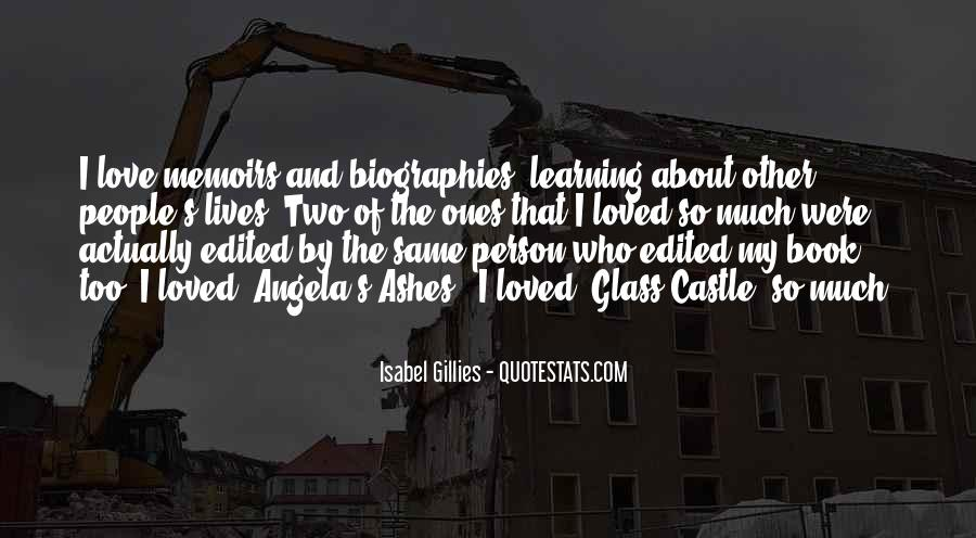 Quotes About The Glass Castle #574998