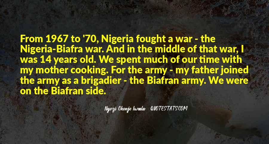 Quotes About Biafra #1345536