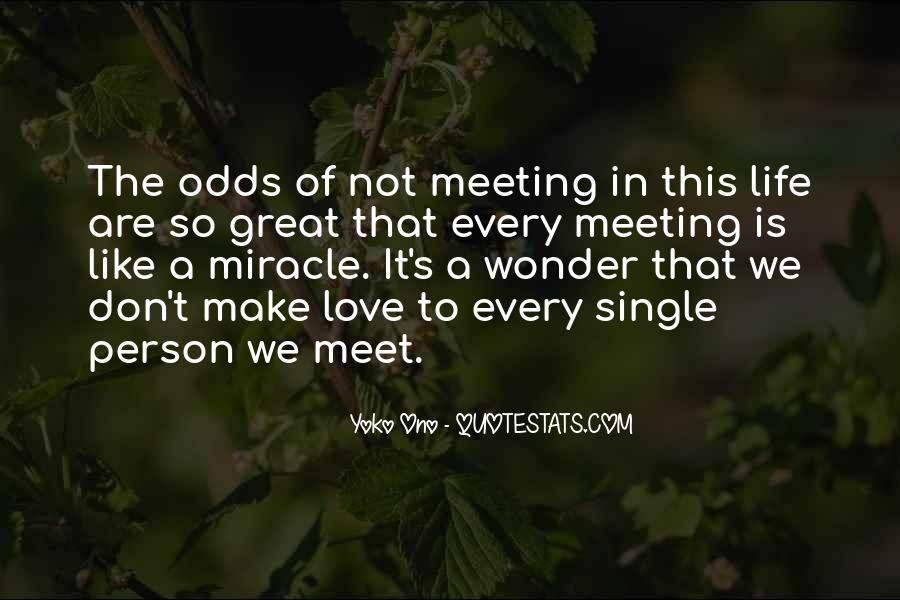 Quotes About Meeting Someone Great #848534