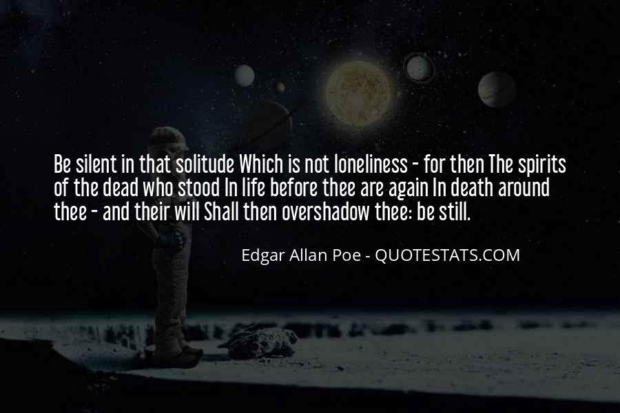Quotes About Life Edgar Allan Poe #1584156