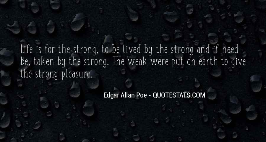 Quotes About Life Edgar Allan Poe #1612602