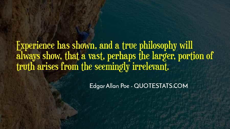 Quotes About Life Edgar Allan Poe #1878925