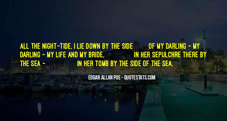 Quotes About Life Edgar Allan Poe #8427