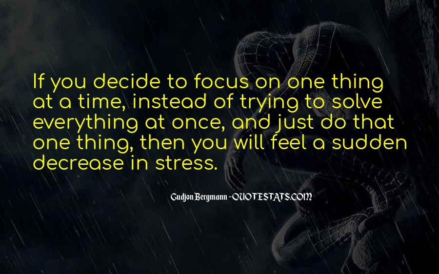 Quotes About Stress Relief #1237591