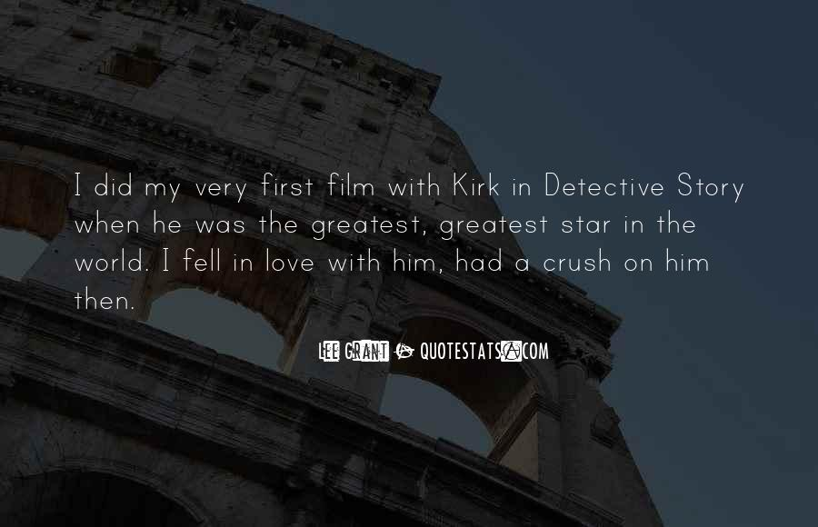 Quotes About Kirk #86774
