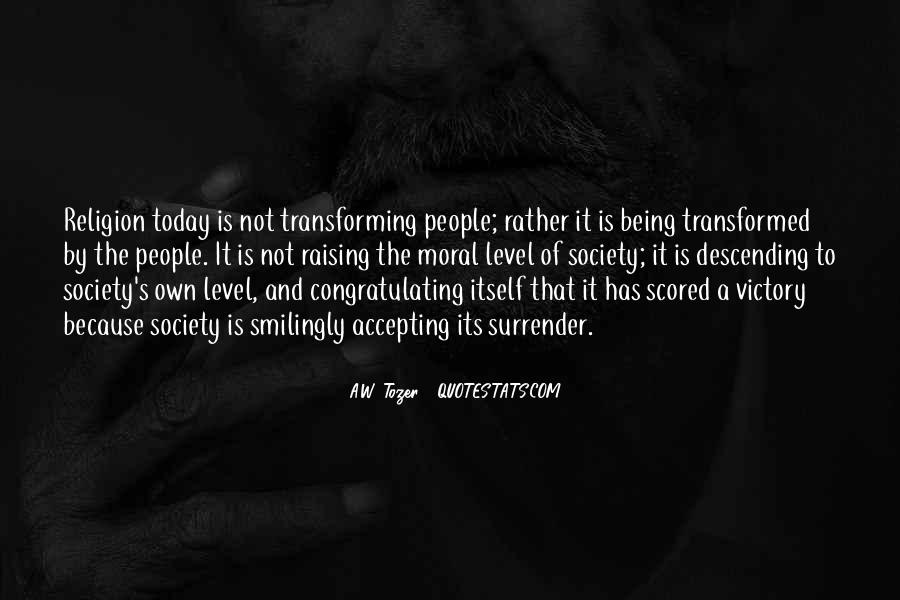 Quotes About Transforming Society #1127159