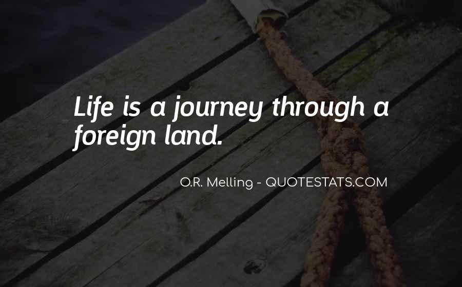 Quotes About Dreams And Journeys #389760