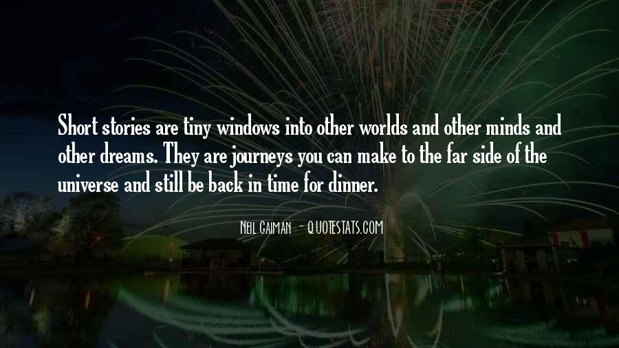 Quotes About Dreams And Journeys #779106