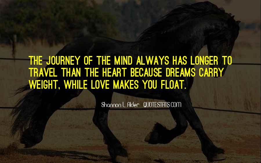 Quotes About Dreams And Journeys #925947