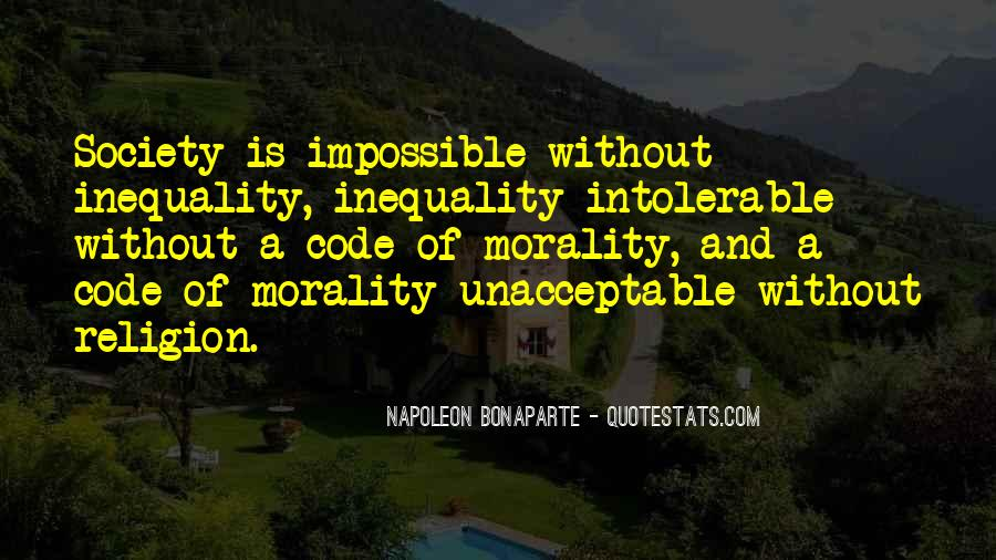 Quotes About Morality Without Religion #1257408