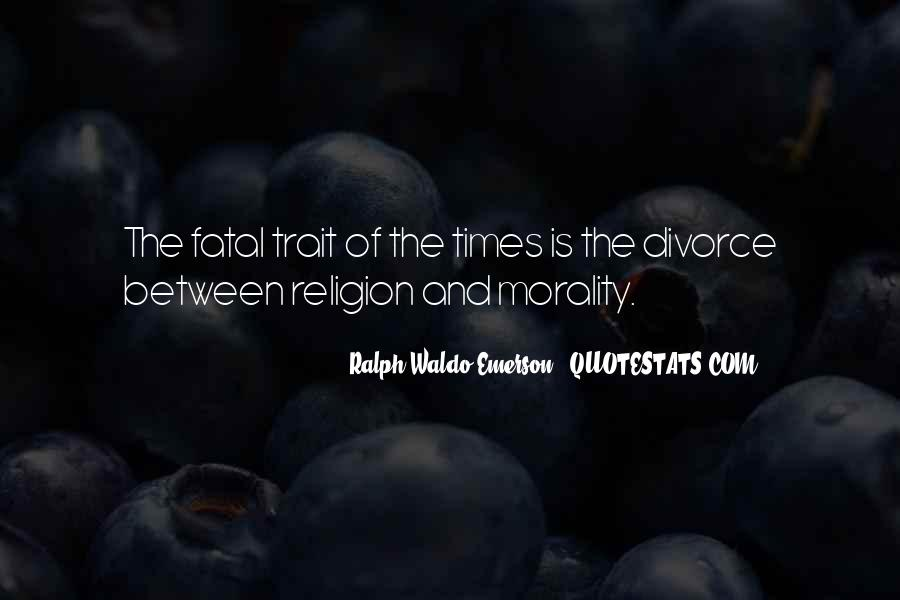 Quotes About Morality Without Religion #210365