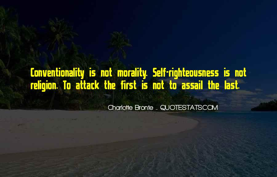 Quotes About Morality Without Religion #23228