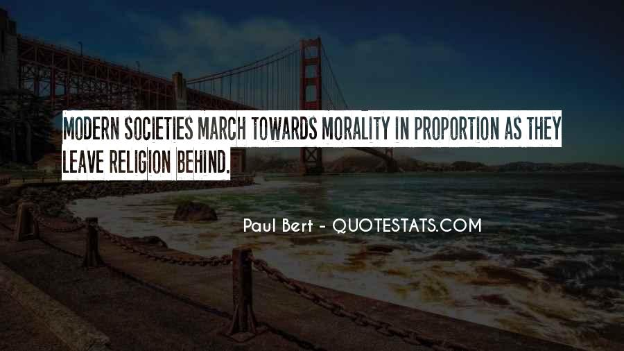 Quotes About Morality Without Religion #233045