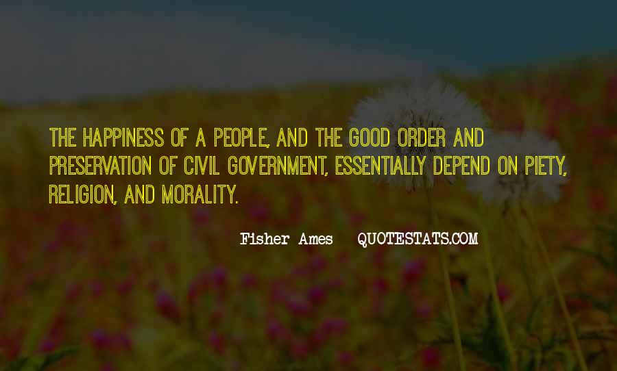 Quotes About Morality Without Religion #293434