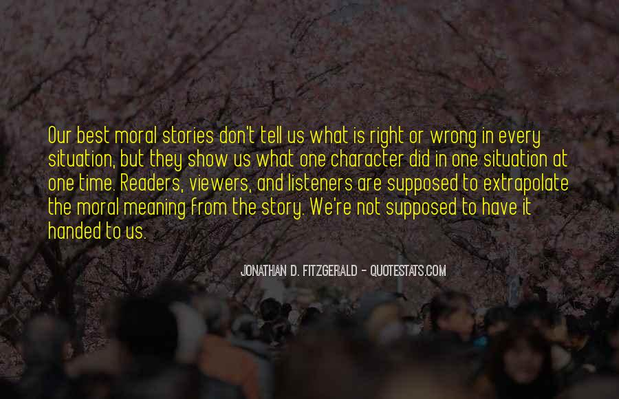 Quotes About Morality Without Religion #42674